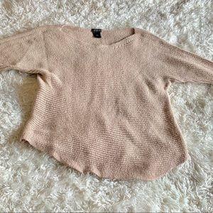 Ann Taylor Size SM Tan Oversized Sweater